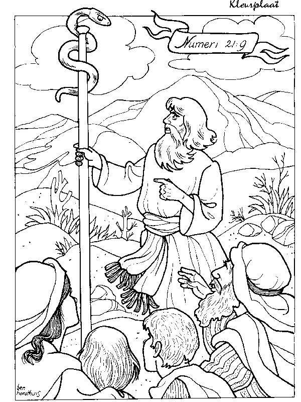 Moses and the snake
