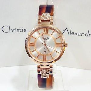 Jam Tangan Alexandre Christie AC 2516 Rosegold Brown