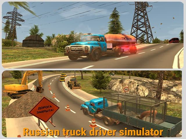 Russian Car Driver Zil 130 Free Game Russian Car Driver Zil 130 Is A Simulator Of The Classic Russian Truck Engage In Car And Driver Drivers Truck Driver