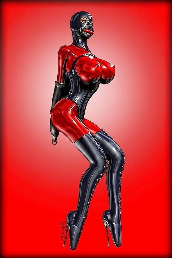 Erotic rubber latex sex pictures