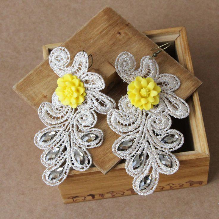 Полный 48 доставка творческий шаг поразительные сестра серьги Мэн Европа преувеличены серьги поделки ручной работы ювелирные изделия оптом - Taobao