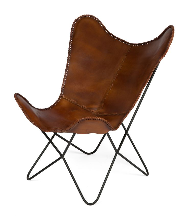 Charlie Iron And Leather Rest Chair by Lifestyle Traders. Get it now or find more Living Room Chairs at Temple & Webster.
