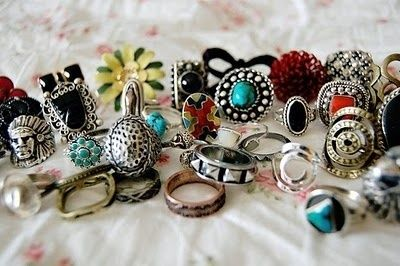 rings rings rings rings: Statement Rings, Statement Necklaces, Rings Rings, Style, Love Rings, Clothing, Vintage Rings, Jewelry, Accessories