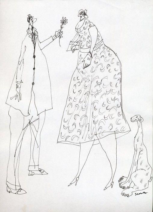 Les habits vus par Ettore Scola