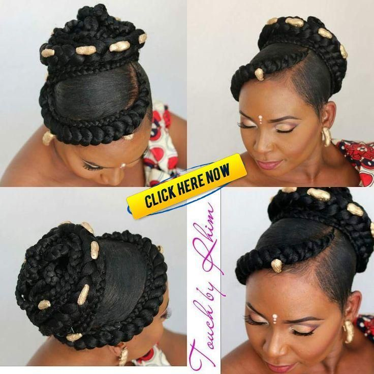 Untitled Braids Africaines Chignon Braids Africaines Mariage In 2020 African Hairstyles Black Braided Hairstyles Updos African Wedding Hairstyles