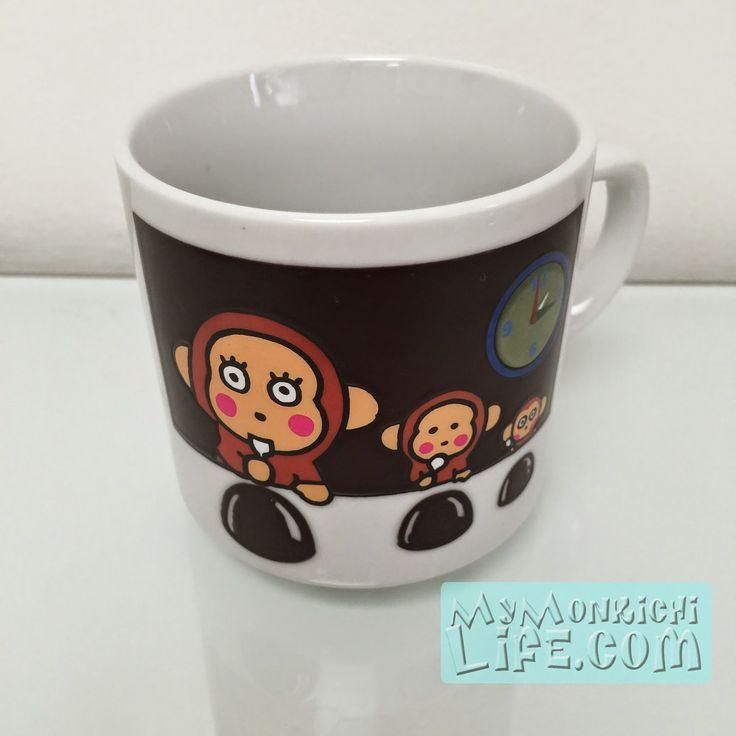 1996 Osaru No Monkichi Ceramic Mug | My Monkichi Life