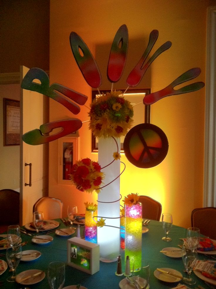 1000 ideas about 60s party on pinterest 60s party for Decoration hippie