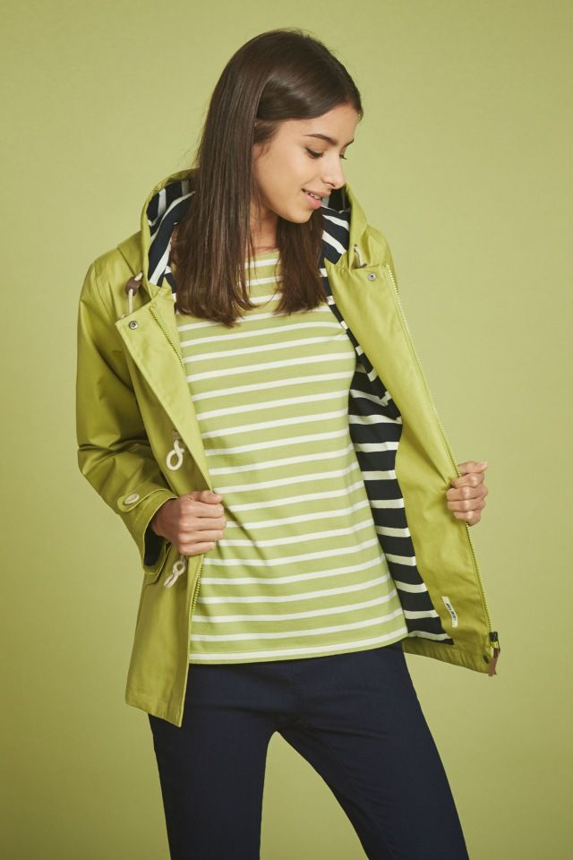 The original and best! Hip length raincoat in Seasalt's famous Tin Cloth® fabric. Waterproof, windproof and breathable.