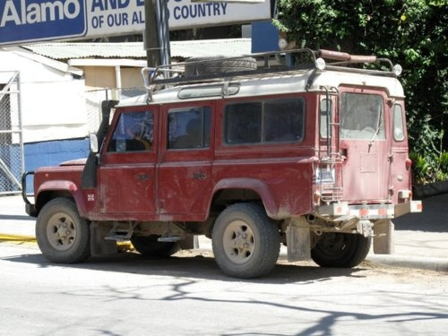 Land Rover Defender 110 from the streets of Tamarindo Costa Rica.Sports Transportation, Defender 110, Land Rovers Defender, Utility Vehicle, Sports Utility, Pistons Driven, Tamarindo Costa Rica, Land Rover Defender