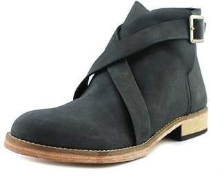 Free People Las Palmas Ankle Boot Round Toe Leather Ankle Boot.