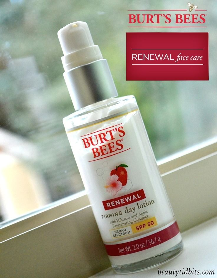 Burt's Bees Renewal Firming Day Lotion with SPF 30
