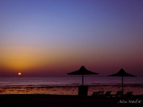 Alba sul Mar Rosso. RT se sei addicted al Mar Rosso! ^______^