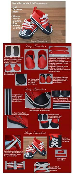 Baby Shoes Tutorial