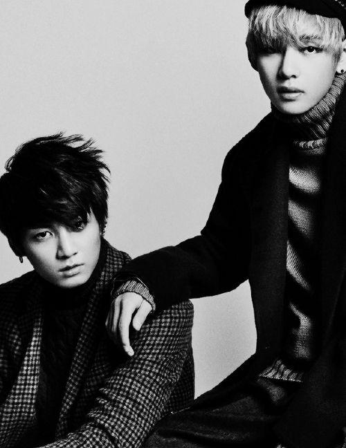 Bangtan Boys ❤ Jungkook (kook) & Taehyung  (v) | tumblr