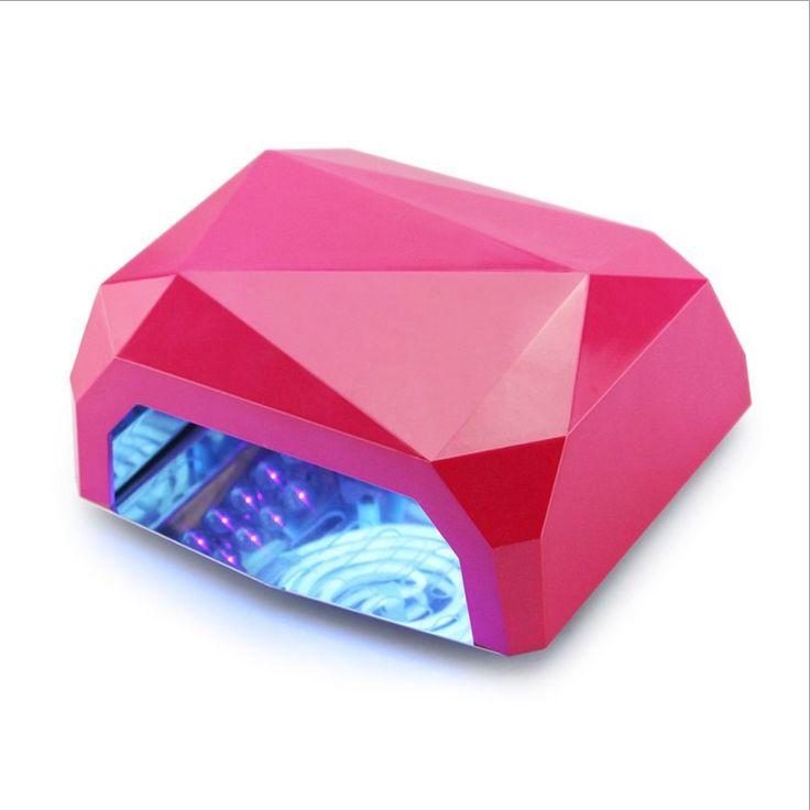UV Lamp Professional 24W LED Lamp Nail Dryer Manicure LED Light Timer 10s 20s 30s Activate Hand Skin Automatic Induction alishoppbrasil