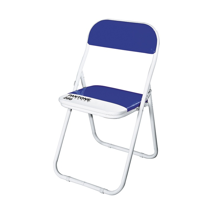 Furniture Design | PANTONE 286 Chair Blue by Seletti #productdesign