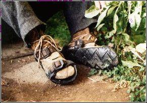 Самодельная обувь в аварийной ситуации . Обсуждение на LiveInternet - Российский Сервис Онлайн-Дневников