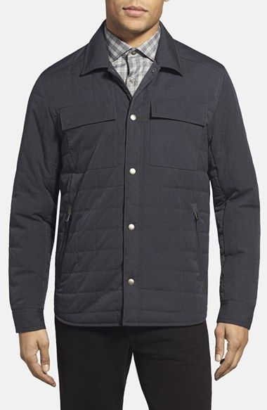 Men's Kenneth Cole New York Quilted Shirt Jacket