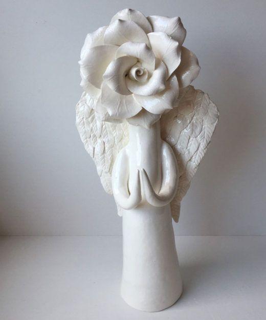 Standing-Angel-Rose Preying