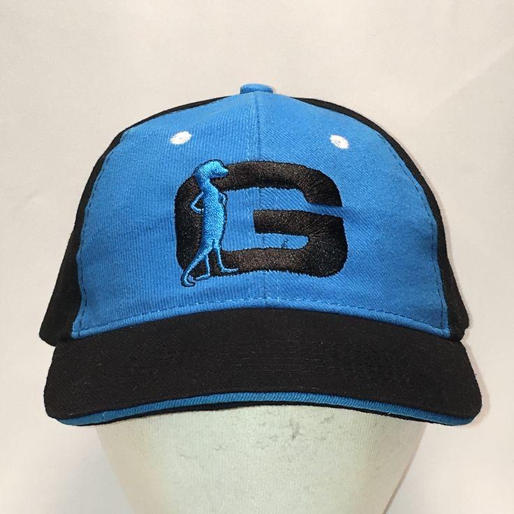 Geico Insurance Hat Navy Blue Baseball Cap Funny Gecko Lizard Big G Dad Caps Vtg Mens Hats Cool Gifts For Birthday For Boyfriend T32 JL9072