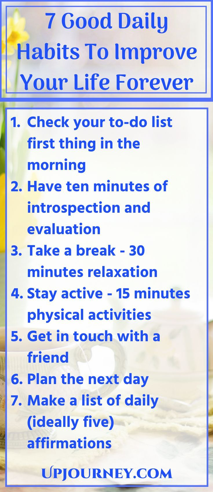 Good Habits And Daily Routines Are Keys To Making Change In Your Life If You Are Wanting To Improve Yourselkf These Habit Change Tips Can Help You Make