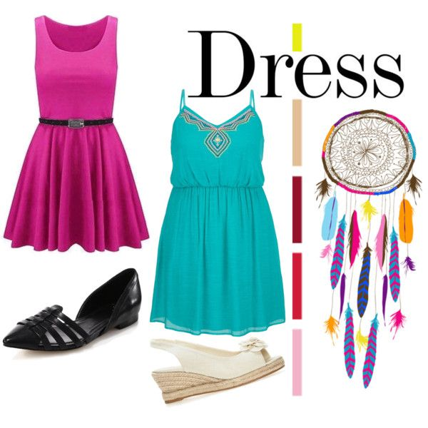 Dare to wear a Dress by veronica-de-lopez on Polyvore featuring polyvore  fashion. Cole HaanConjunto ...