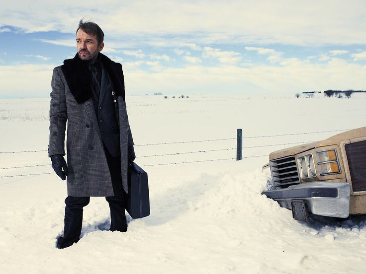 Absolutely LOVE the new Fargo TV show, Billy Bob Thornton is masterly, Martin Freeman is brilliant - so well cast.