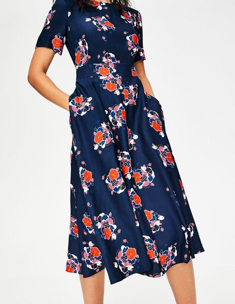 751b4ad202 Ruth Midi Dress W0121 Smart Day at Boden