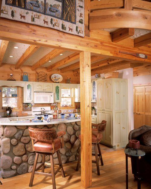 River Rock Kitchen: 17 Best Images About Kitchen Island Rock Work Ideas On