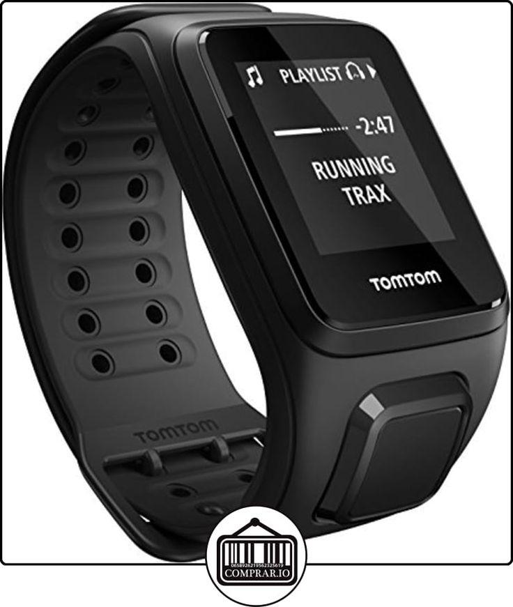 TomTom Spark Cardio Music - Reloj deportivo, color negro, talla L de  ✿ Relojes para hombre - (Gama media/alta) ✿