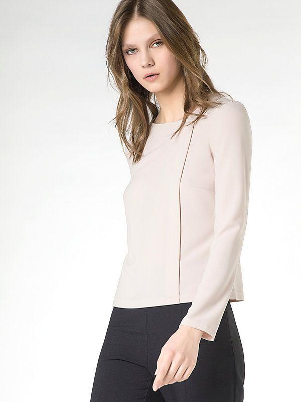 Camicia casacca in crepe di viscosa B532 1