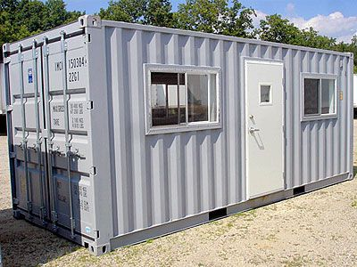 Shipping containers make ideal site offices. They are easily transported to your building or construction site. They are versatile, secure and strong. If keeping within budget and time restraints is important to your project, then these steel boxes are worth considering.