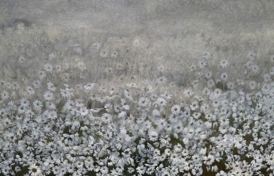 Harald Sohlberg Detail from Flower Meadow in the North 1906