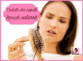Maschere fatte in casa per la caduta dei capelli rimedi naturali scritta donna spazzola legno capello castani