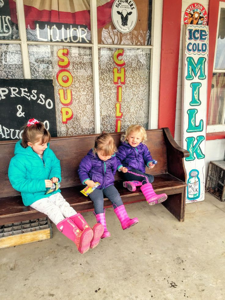 The Old-Mission General Store provides classic old-time feel and is a fun stop with the kids if you're in the area.