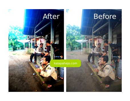 Tutorial inkscape : Membuat Foto Lebih Tajam Warna nya (editing foto) - kalapahejo