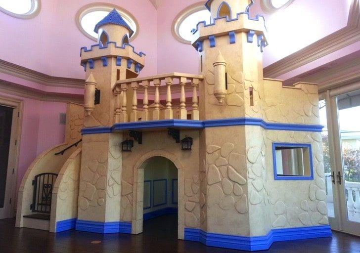 12 Incredible Indoor Playhouses Play Houses Castle Playhouse Indoor Playhouse