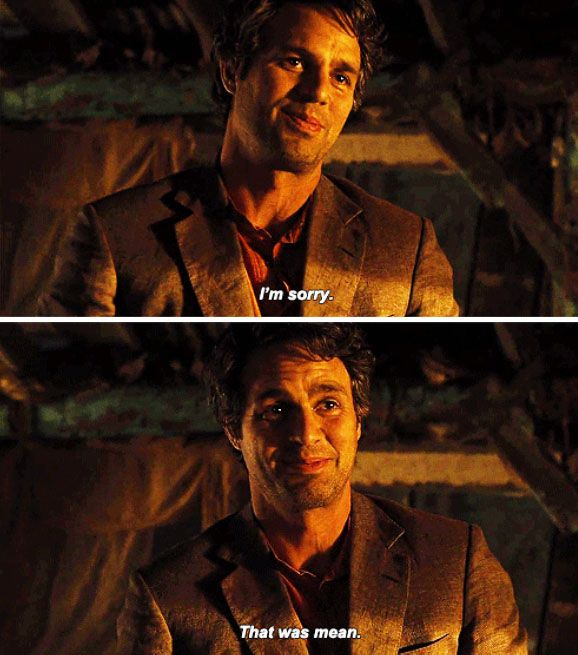 That moment we all fell in love with Mark Ruffalo as Bruce Banner.