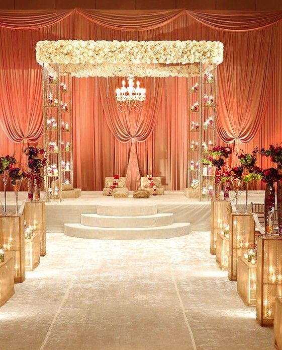 How To Style Your Wedding Mandap Perfectly                                                                                                                                                                                 More