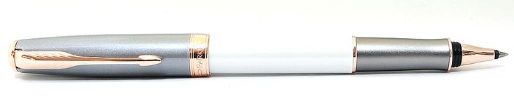 Parker Retired Sonnet Great Expectations Subtle Pearl & Grey Rollerball