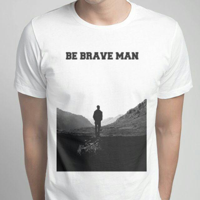 Brave man
