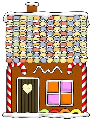 Giant Gingerbread House Pictures for Display (SB11767) - SparkleBox