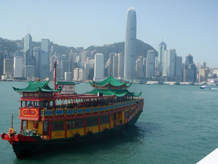 Amazing Hong Kong Victoria Harbour See the world!