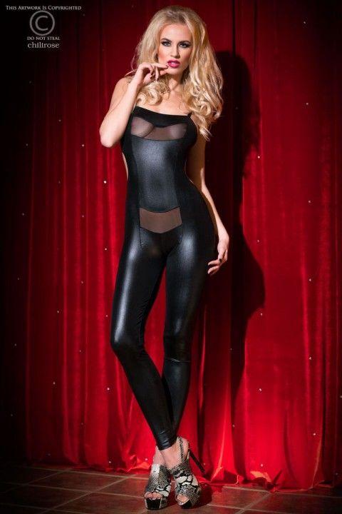 Heißer #Overall mit perfekt platzierten Tülleinsätzen und einem spannenden Rückenausschnitt! https://www.burlesque-dessous.de/sommer/bekleidung/leggings-und-hosen/schwarzer-overall