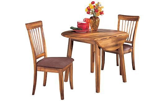 ashley kitchen furniture berringer drop leaf dining table dining for 10186