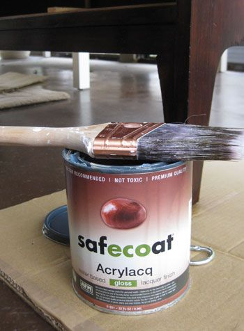Eco-Friendly LacquerYoung House, Safecoat Acrylacq, Painting Furniture, Furniture Painting