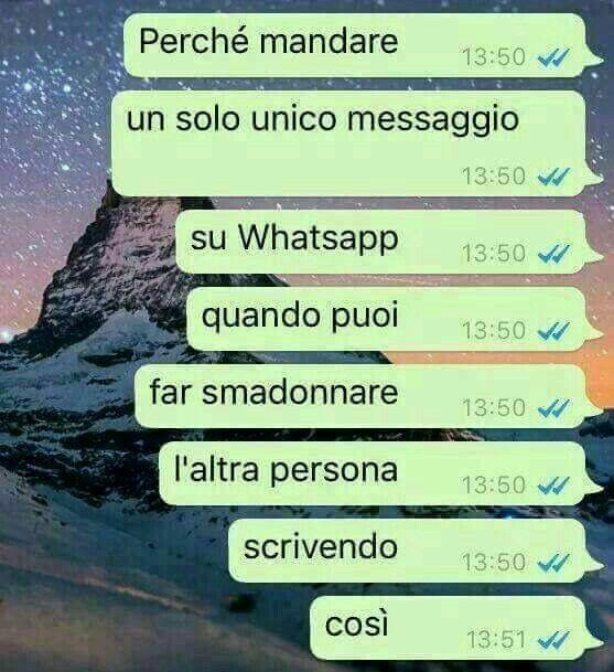 Messaggi whatsapp *