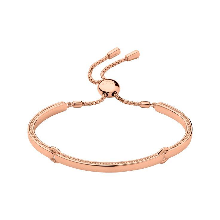Narrative 18ct Rose Gold Vermeil Bracelet from Links of London | Bracelets for women