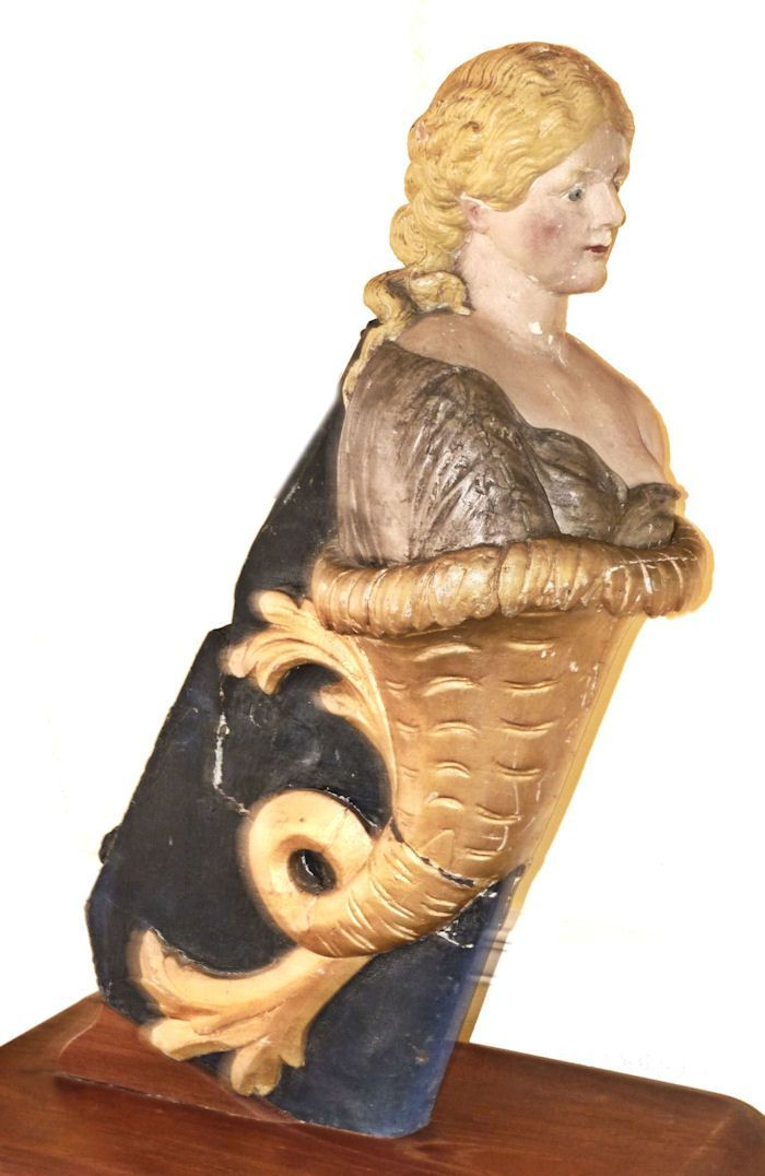 antique figureheads for ships | rare ship's figurehead from a museum collection
