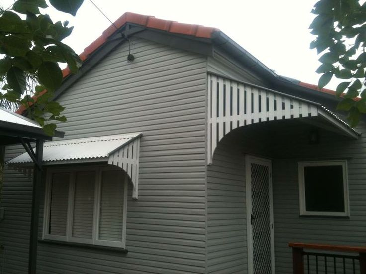 Colonial And Post War Style Window Awnings Carpentry